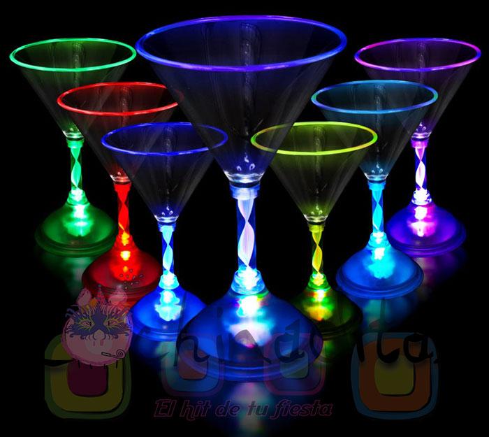 Copa de Martini luminosa