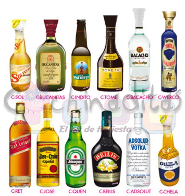 Corbatas botella