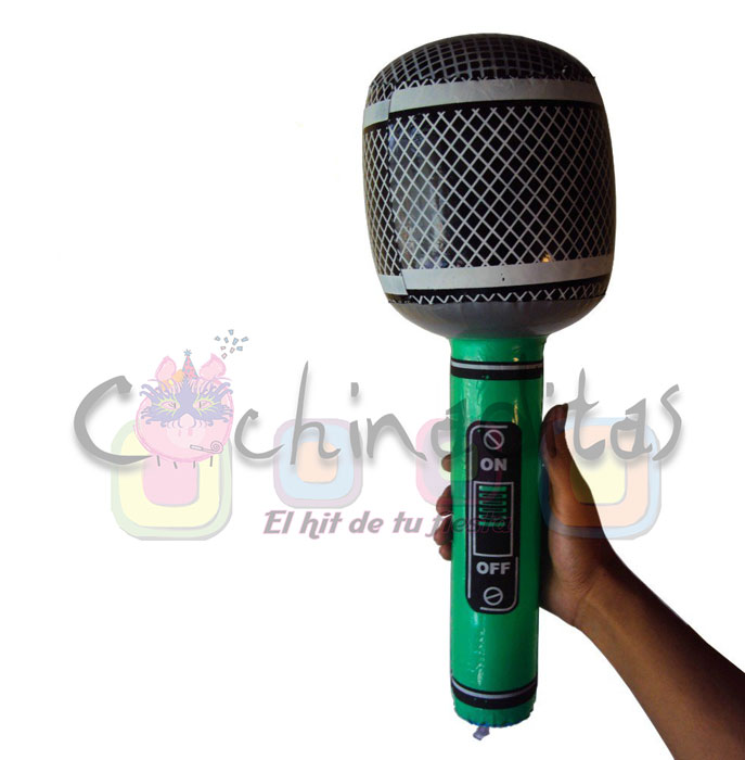 Micrófono inflable gde