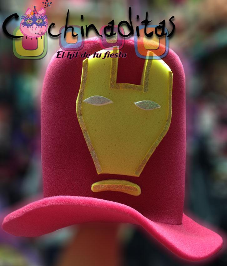 Sombrero hule espuma Ironman