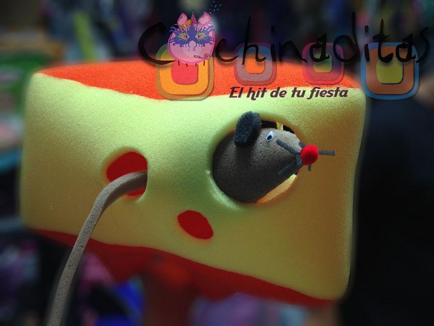 Queso con ratón