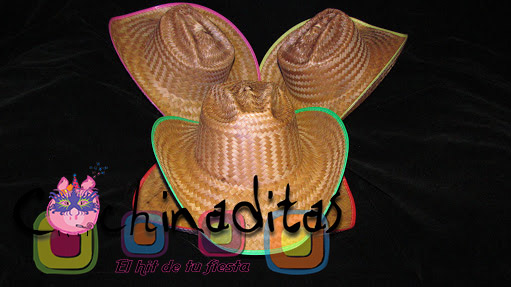 Sombrero texano neón