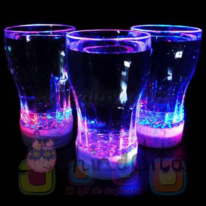 Vaso luminoso refresco