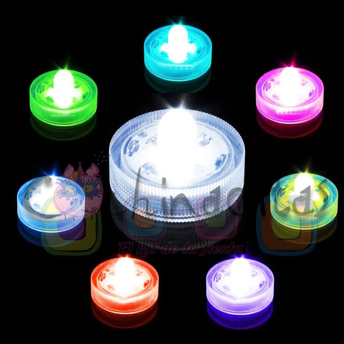 Velas luminosas sumergibles