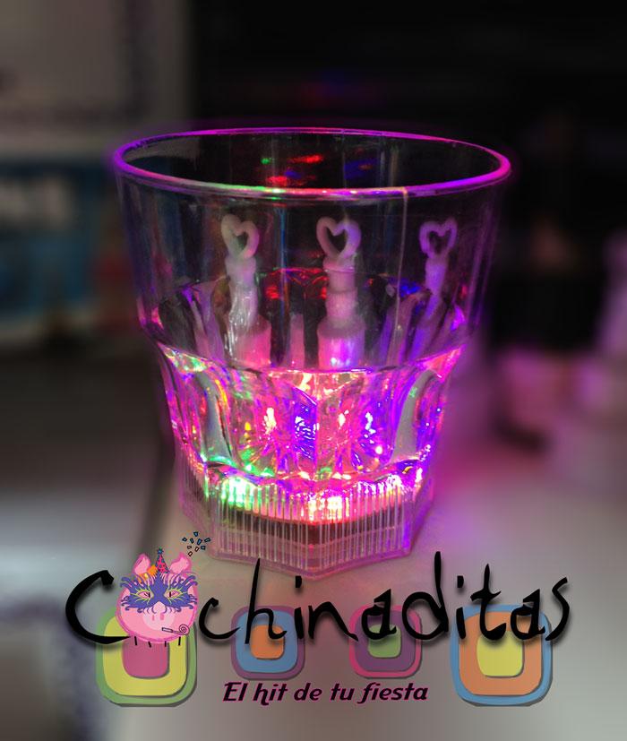 Vaso whisky luminoso
