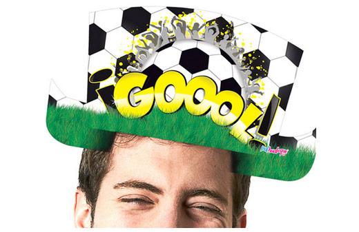 Sombrero de copa Gol