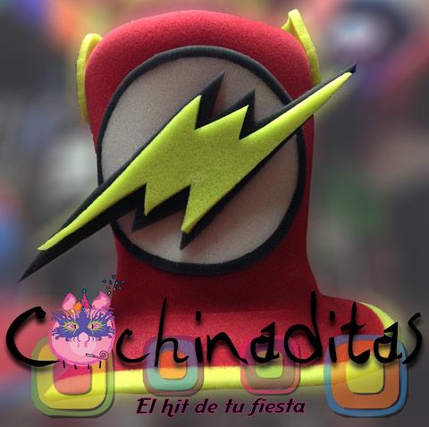 Sombrero hule espuma Flash
