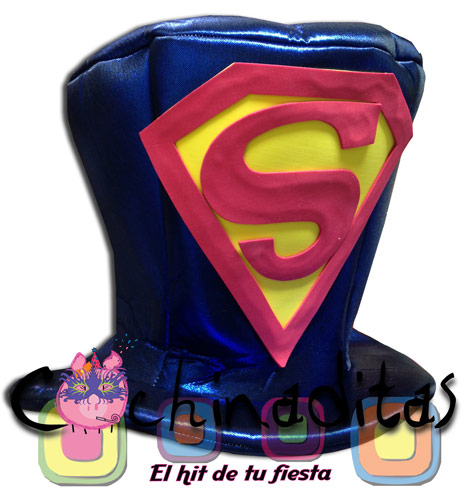 Sombrero tela Superman
