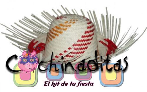 Sombreros de palma costeño