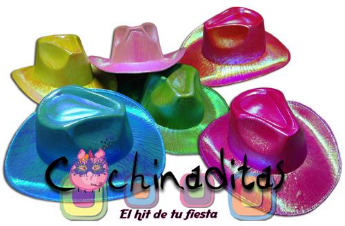 Sombrero texano tornasol