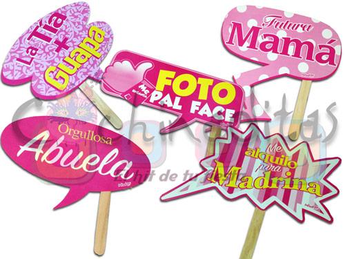 Letreros Baby Rosa