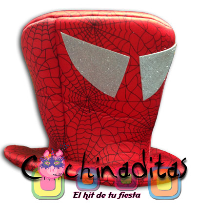 Sombrero tela Spiderman