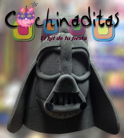 Sombrero Darth Vader hule espuma