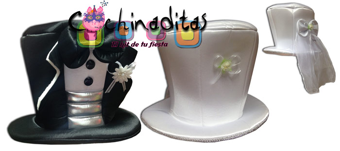 Sombreros de novios 2
