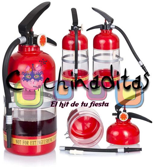 Extintor para shots
