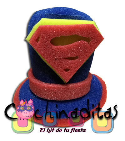 Superman hule espuma