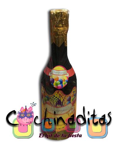 Basuca botella champagne