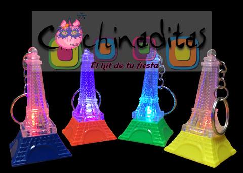 Llaveritos luminosos Torre Eiffel