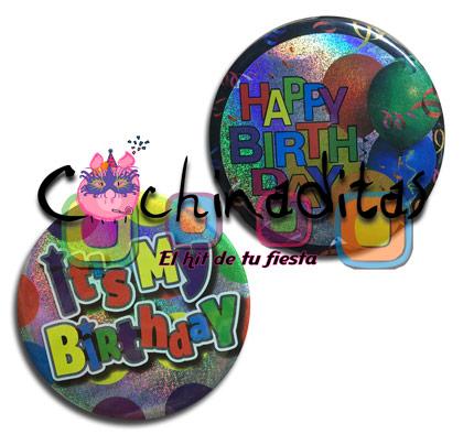 Botón jumbo cumpleaños