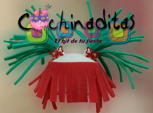 Coletas Lazy tricolor hule espuma