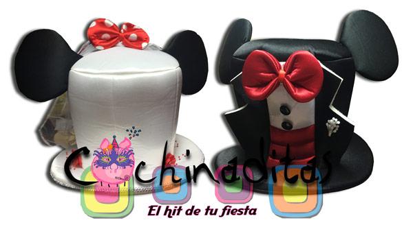 Sombreros Novios Mickey
