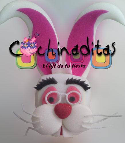 Conejo Blanco Alicia