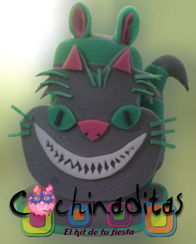 Gato Cheshire gris