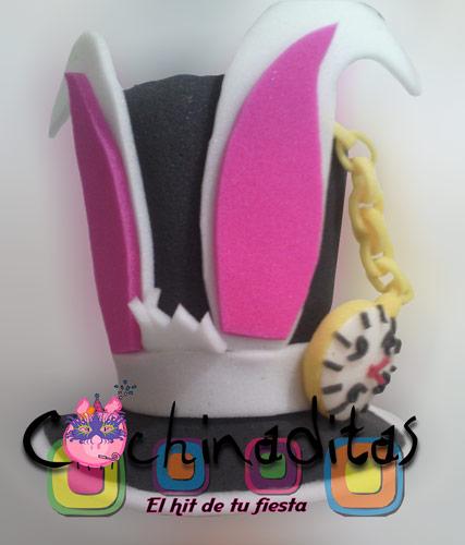 Sombrero conejo blanco