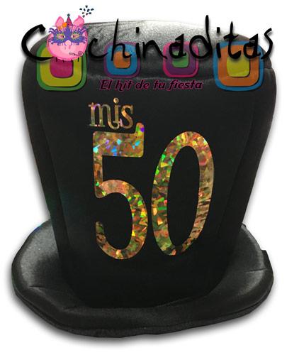 Sombrero tela Mis 50