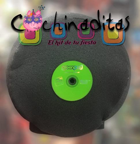 Disco hule espuma
