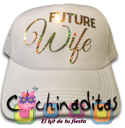 Gorra blanca Future Wife