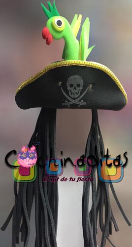 Pirata con perico