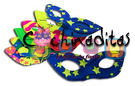 Antifaz carnaval plástico