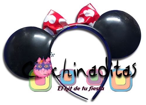 Orejas Minnie Mouse plástico