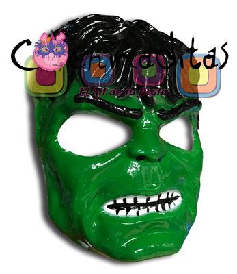 Máscara Hulk PVC