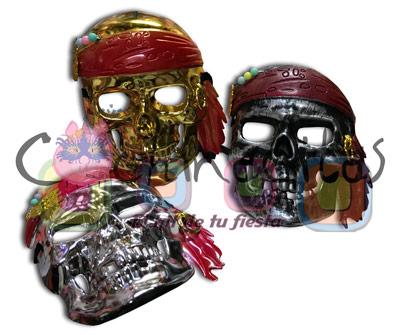 Máscara Pirata Calavera