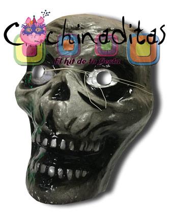 Máscara Calavera gris