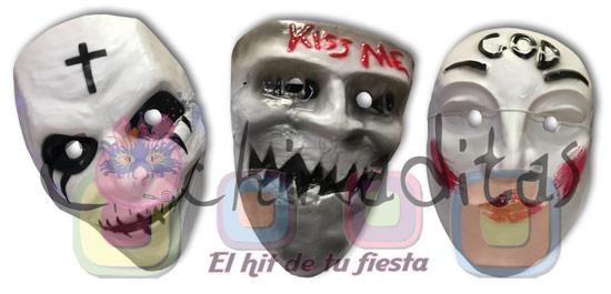 """Máscaras """"La Purga"""""""