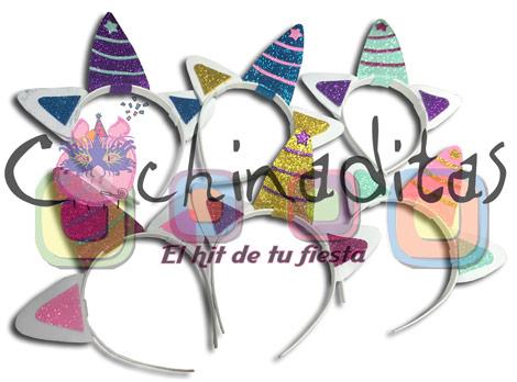 Diadema unicornio foami