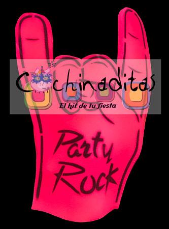 Mano espuma Rock
