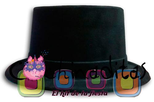 Sombrero copa negro