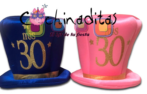 Sombrero tela Mis 30