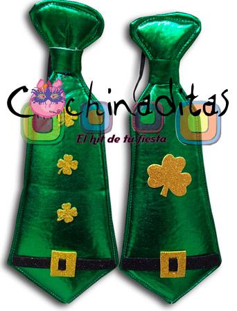 Corbata tela St. Patricio