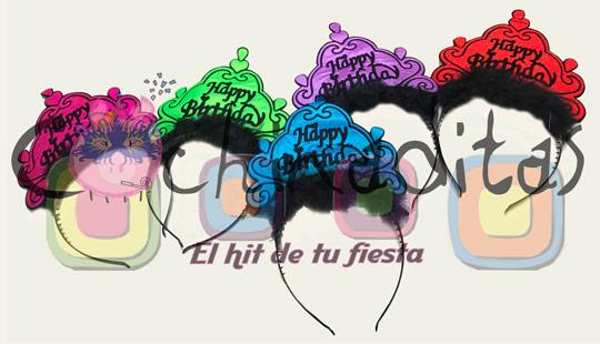 Corona Happy Birthday tela