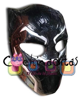 Máscara Pantera Negra PVC