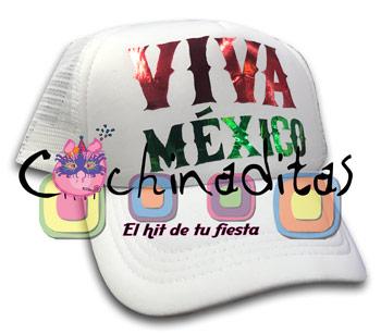 Gorra Viva México