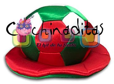 Sombrero balón tricolor