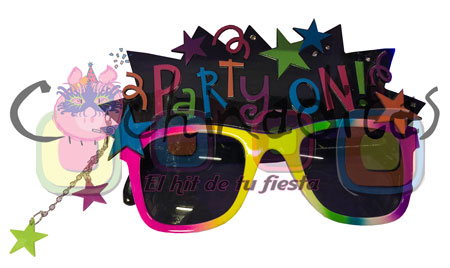Lentes Party On