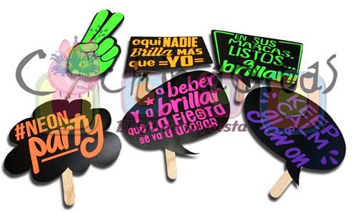 Letreros #Neon Party