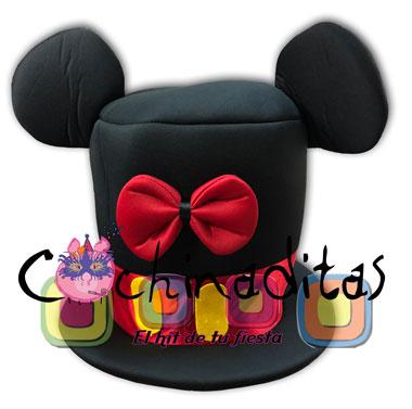 Mickey mouse moño